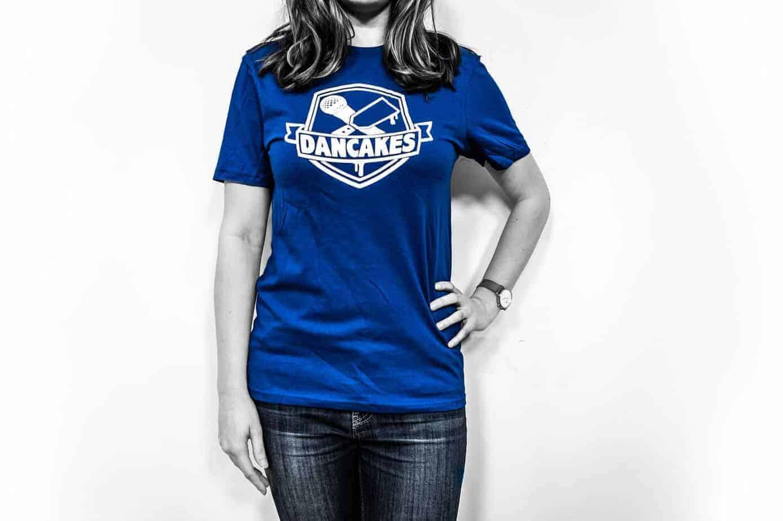 Dancakes Logo T-Shirt - Blue